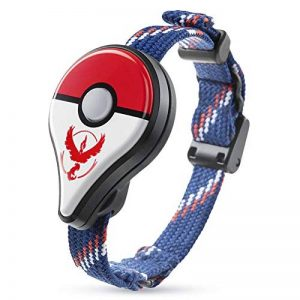 Bracelet Pokemon GO sans Fil Bluetooth Bracelet Wearable LED Gaming Device Détecteur de Monstre Bracelet de Rappel Intelligent Nouveau Design Uniquement pour Nintendo Pokemon GO Plus (Rouge) de la marque Crazystore image 0 produit