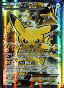 carte Pokémon XY124 Pikachu EX 130 PV - FULL ART Promo de la marque Pokemon Company International image 0 produit