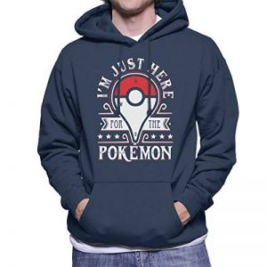 Cloud City 7 Catching Some Monsters Pokemon Go Men's Hooded Sweatshirt de la marque Cloud City 7 image 0 produit