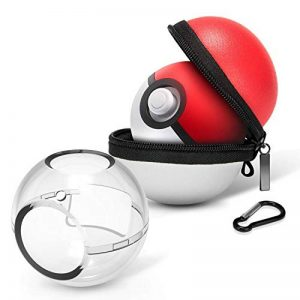 HEYSTOP Étui de Transport pour Pokémon Poke Ball Plus, Coque de Protection et Housse de Transport de Protection Rigide Portable Travel Poke Ball Housse de Transport pour Nintendo Switch de la marque HEYSTOP image 0 produit