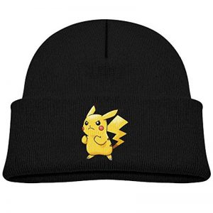 Kid So Cute Pikachu Pokemon Beanie Cap Winter Hats Watch Cap de la marque Cap CCool image 0 produit