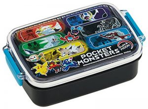 Pocket Monster [Lunch Box] Passe au Lave-Vaisselle carré Tight Lunch Box/Soleil et Lune 18 Pokémon de la marque image 0 produit