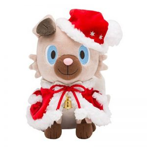 Pokemon Center Original Plush Doll Christmas 2017 Rockruff de la marque Pokemon image 0 produit