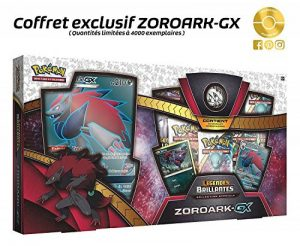 Pokemon Coffret Collection Légendes Brillantes – Zoroark-GX, POK35ZORGX01, Exclusif de la marque Pokemon image 0 produit