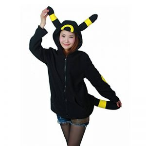 POKEMON COSPLAY ANIME Déguisement UMBREON OREILLES Queue manteau pull veste à capuche XL de la marque WOWcos image 0 produit