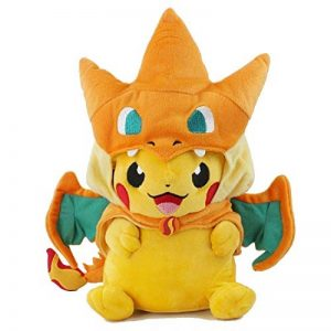 Sincerity Forever Pokemon Plush Pikachu Smile Charizard Doll Stuffed Animals Figure Soft Anime Collection Toy de la marque sansha shop image 0 produit