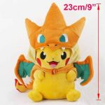 Sincerity Forever Pokemon Plush Pikachu Smile Charizard Doll Stuffed Animals Figure Soft Anime Collection Toy de la marque sansha shop image 1 produit