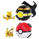 TOMY Pokémon Coffret Throw 'n' Pop Poké Ball Ultime Combat, T19088 de la marque TOMY image 1 produit